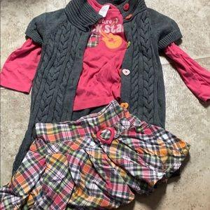 3 piece Gymboree outfit.